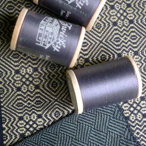 Silk Thread on Wooden Spools