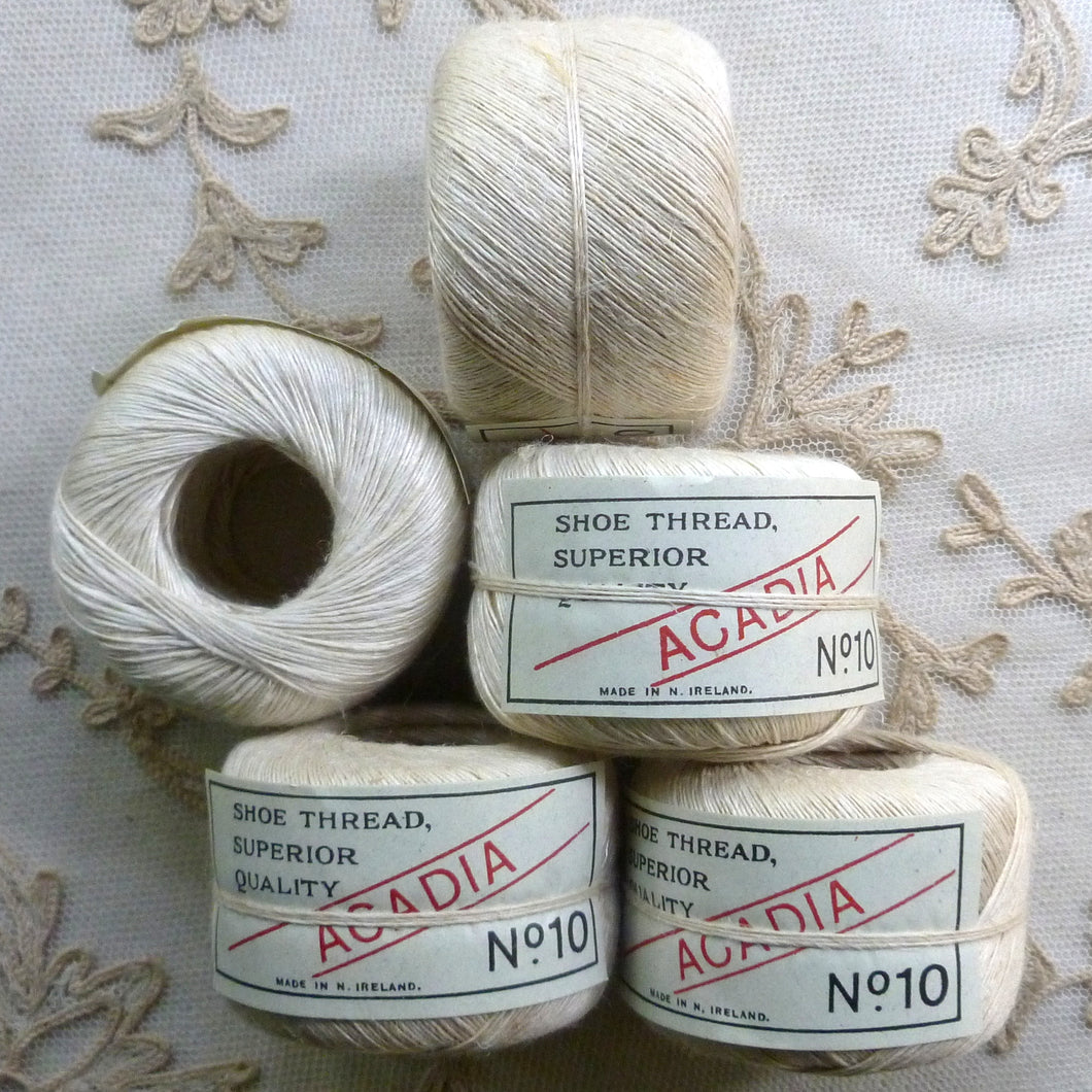 Superior Quality Linen Shoe Thread