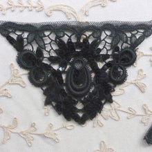 Load image into Gallery viewer, Pair of Hand Sewn Sequins and Lace Appliques Circa 1930/40's