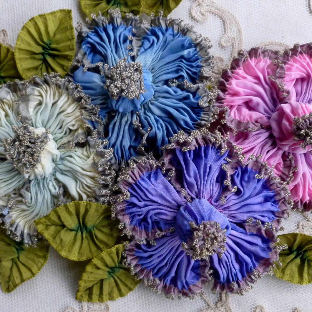 French Ombre Ribbon Flower