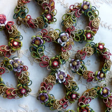 Load image into Gallery viewer, Antique French Passementerie Wreaths