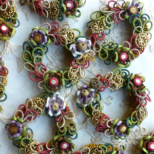 Antique French Passementerie Wreaths
