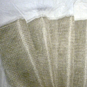 Silver or Gold Metal Netting