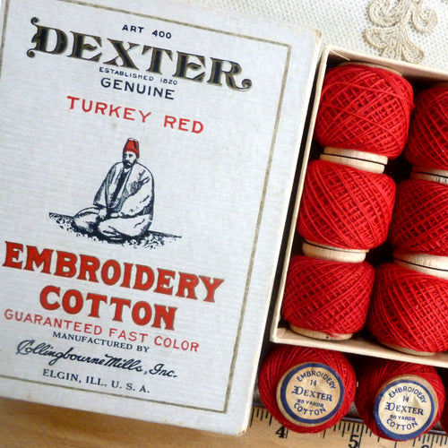 Genuine Turkey Red Embroidery Thread