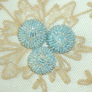 Vintage Glass Beaded Embellishments