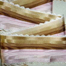 Load image into Gallery viewer, Vintage Ribbon by the Roll - French Scalloped Picot Edge Ribbon