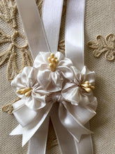Load image into Gallery viewer, Vintage Satin Ribbon By the Roll Ivory