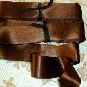 Vintage Ribbon by the Roll - Double Faced Heavy Satin