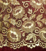 Load image into Gallery viewer, Antique French Gold Metal Lace
