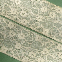 Load image into Gallery viewer, Antique French Alencon Patterned Lace