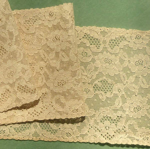 Antique French Alencon Style Lace Decorative Fillings