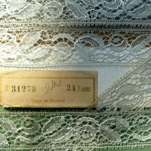 Load image into Gallery viewer, Antique French Silver Metal Lace