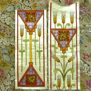 Antique Silk & Applique Liturgical Embroideries