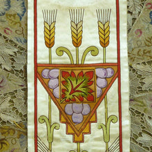 Load image into Gallery viewer, Antique Silk & Applique Liturgical Embroideries