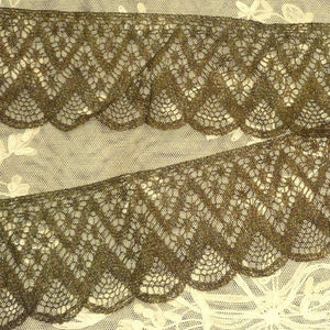 Antique Bronze Metal Lace