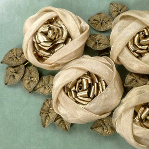 Antique French Ribbons, Rose