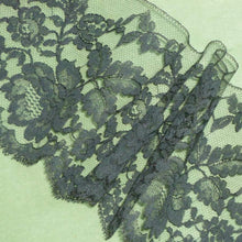 Load image into Gallery viewer, Vintage French Chantilly Style Lace