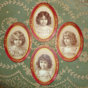 Antique Candy Box Labels