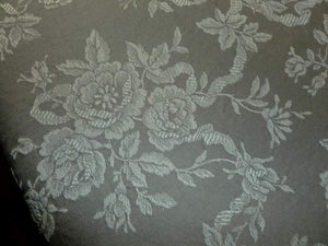 Vintage French Roses Ticking Early/Mid 20th Century