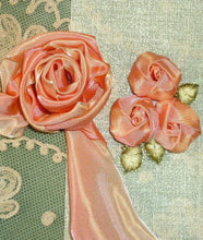 Load image into Gallery viewer, Apricot/Peach French Ombre Ribbon