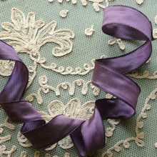 Load image into Gallery viewer, French Violet Wired Ribbon