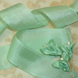 Vintage French Tissue Ribbon