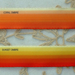 Vintage Ombre Grosgrain for Flowers and Buds