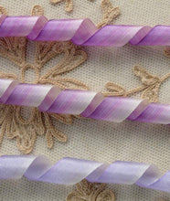 Load image into Gallery viewer, Antique French Woven Ombre Ribbons 1/2 Inch Width