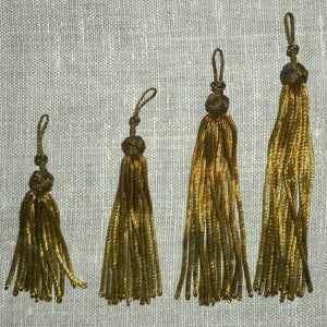 Antique Gold Bullion Tassels
