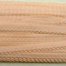 Load image into Gallery viewer, Vintage French Pink Lingerie Trim Cord Loop Detail