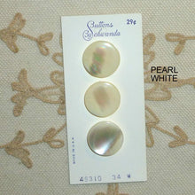 Load image into Gallery viewer, Quality Ocean Pearl Buttons Circa 1950/60's