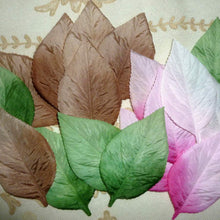 Load image into Gallery viewer, Vintage Mid Century Pressed Ombre Leaves