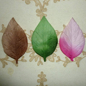 Vintage Mid Century Pressed Ombre Leaves