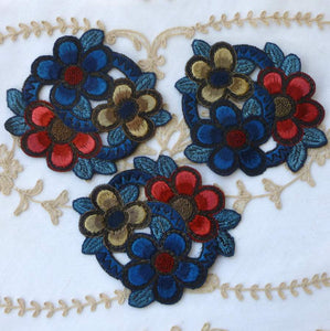 Embroidered Appliques Gatsby Era