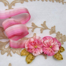 Load image into Gallery viewer, Vintage Four Pinks French Ombre Ribbon