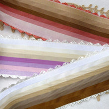 Load image into Gallery viewer, Fine Quality Vintage French Scalloped Picot Edge Ribbon