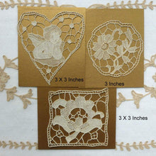 Load image into Gallery viewer, Antique Needle Lace Appliques