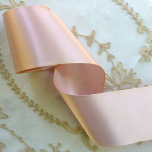 Lustrous Double Faced Vintage Satin Ribbon