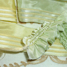 Load image into Gallery viewer, New Old Stock French Ribbon for Ruffles