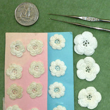Load image into Gallery viewer, Antique Hand Made Lace Flowers Clones Lace