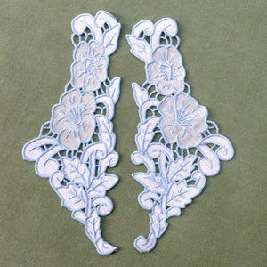 Genuine Vintage Hand Embroidered Madeira Appliques