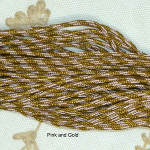 Antique French Cords with Gold and Silver Metals