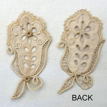 Load image into Gallery viewer, Cord and Needle Lace Appliqués