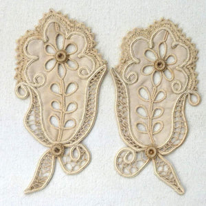 Cord and Needle Lace Appliqués