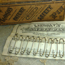 Load image into Gallery viewer, Victorian Heavy Steel Safety Pins