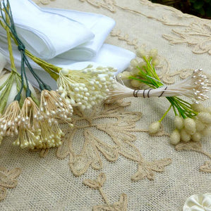 Wedding Collection of Vintage Ribbons For Flowers