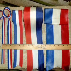 Vintage Patriotic Ribbons