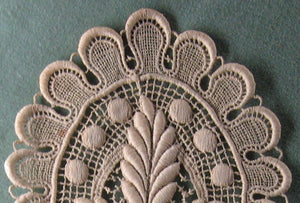Victorian lace applique