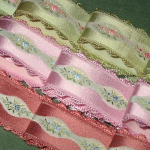 Vintage French Ribbon 1 1/4th inch width