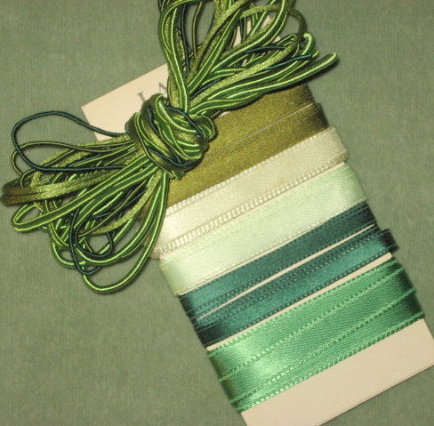 Vintage Ribbons & Cords 10 Yards